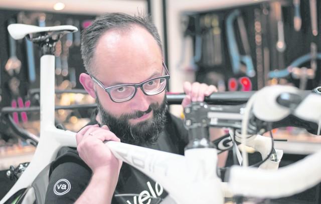 Grzegorz Dziadowiec pierwszy rower rozebrał i zmodyfikował, gdy miał dziewięć lat