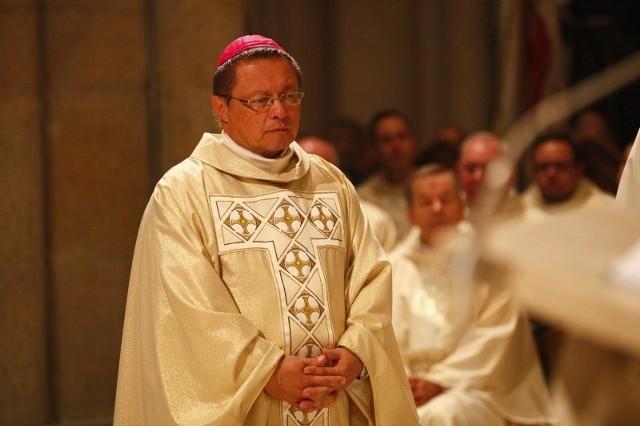 Arcybiskup metropolita łódzki Grzegorz Ryś.