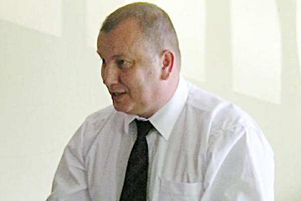 Bogusław Gąsiorowski, wójt gminy Lubsza.