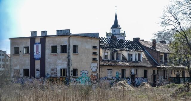 Pożar budynku Gedanii