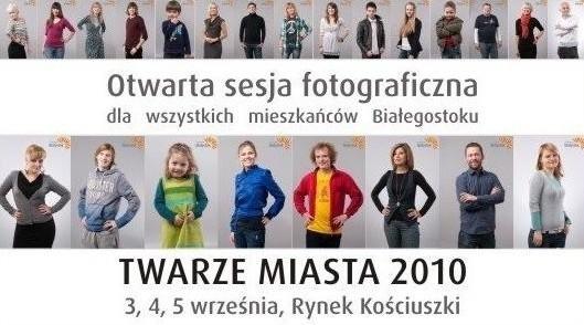 Podczas akcji wykonanych zostanie ponad tysiąc fotografii współczesnych mieszkańców Białegostoku