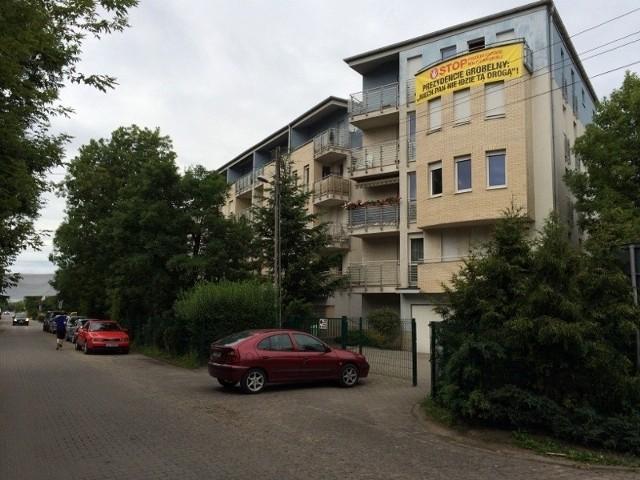 Mieszkańcy Milczańskiej protestują, a prace pod budowę CH Łacina już się rozpoczęły...