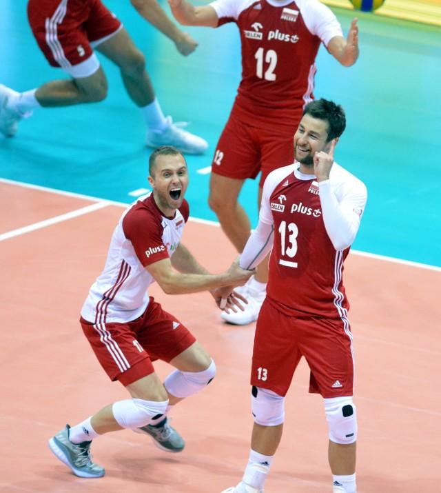 Michał Kubiak może być zadowolony z postawy kolegów w sobotnim spotkaniu mistrzostw Europy z Finlandią