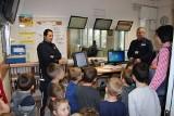 Lipnowskich policjantów odwiedzili najmłodsi [zdjęcia]