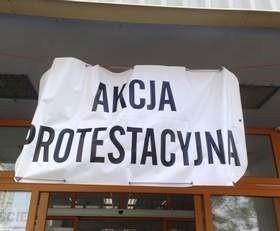 Związkowcy firmy ogłosili akcje protestacyjną. (fot. Mirosław Dragon)