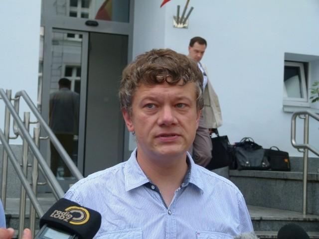 Radny Bartłomiej Dyba-Bojarski.