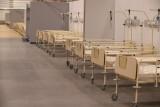 Coraz mniej wolnych łóżek dla zakażonych w regionie łódzkim. Ma ruszyć szpital tymczasowy w hali Expo Łódź i dodatkowe łóżka w szpitalach