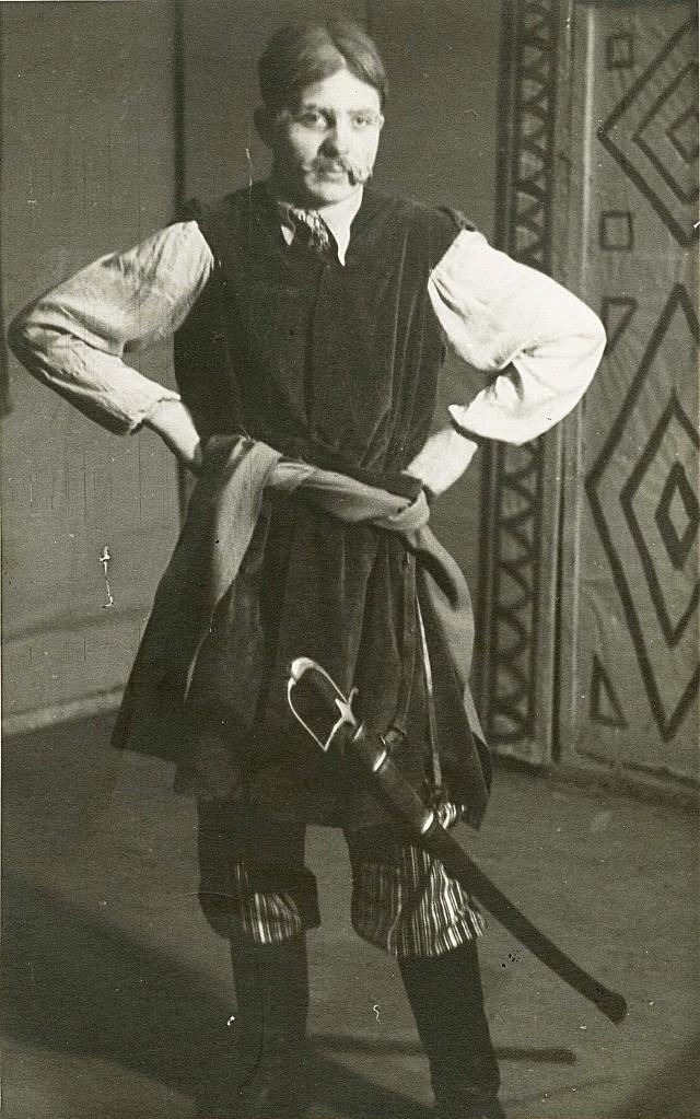 Mirosław Derecki w roli Cześnika
