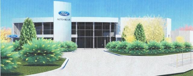 Tak będzie wyglądać nowa stacja dealerska Forda w Kielcach