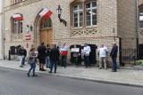 W Toruniu odbyła się pikieta w obronie sędziów [zdjęcia]