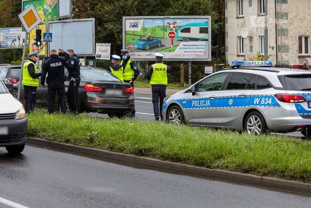 Pościg na dk 10 na odcinku Stargard - Szczecin