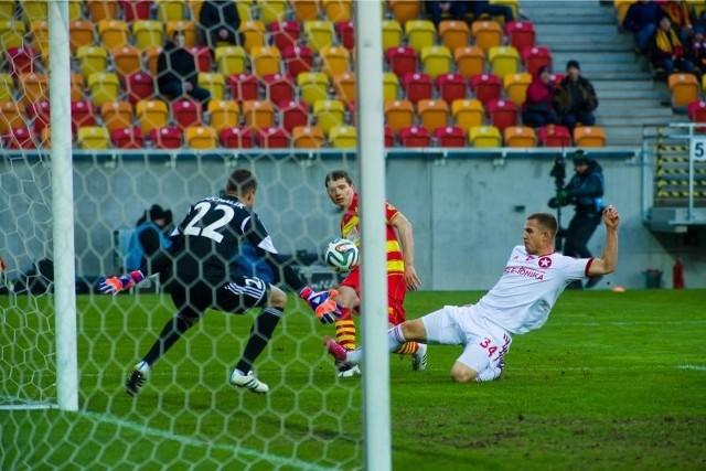 Mecz Jagiellonia Białystok - Wisła Kraków zakończył się remisem 2:2