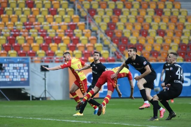 Cracovia przegrała z Jagiellonią 1:2
