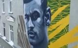 Kolejna gwiazda futbolu uwieczniona na muralu w Kazaniu. Do Cristiano Ronaldo i Lionela Messiego dołączył Neymar