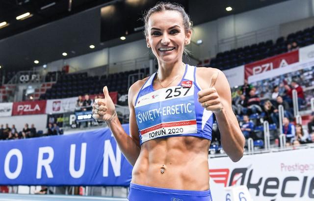 Justyna Święty-Ersetic była największą gwiazdą 64. PZLA Halowych Mistrzostw Polski w lekkiej atletyce w Arenie Toruń