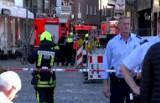Atak terrorystyczny w Niemczech 7.04.2018. W Munster zamachowiec wjechał ciężarówką w tłum turystów. Nie żyją cztery osoby (wideo)