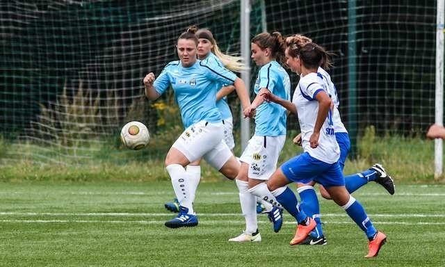 piłka kobiet  KKP Bydgoszcz - Błękitni Stargard...