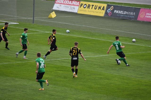 W ostatnim jak dotąd meczu GKS Jastrzębie podzielił się punktami z Górnikiem Łęczna.
