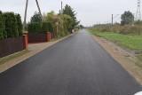 Gmina Kowala. Budowa drogi w Ludwinowie zakończona. Prace trwały blisko dwa miesiące
