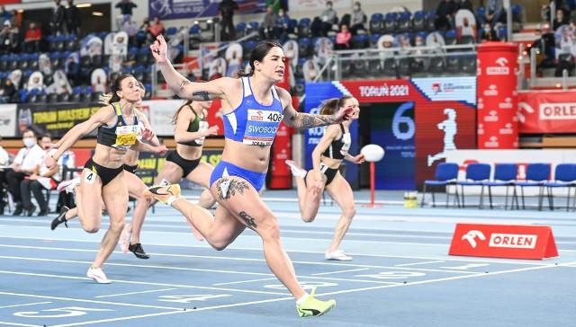 Ewa Swoboda w świetnym stylu i ze świetnym wynikiem wygrała bieg na 60 metrów