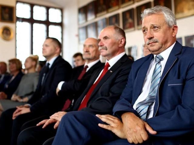 Mirosław Kukliński (z prawej) obejmie stanowisko dyrektora ZDW w Łodzi.