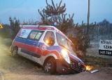 W Grójcu pijany pacjent ukradł karetkę ze szpitala i uciekł. Po przejechaniu kilkunastu kilometrów wypadł do rowu, trzeźwieje w komendzie