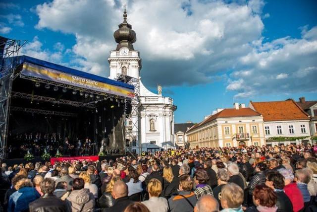 Tym razem koncert dla Jana Pawła II w Wadowicach nie odbędzie się na rynku, tak, jak działo się to w poprzednich latach.