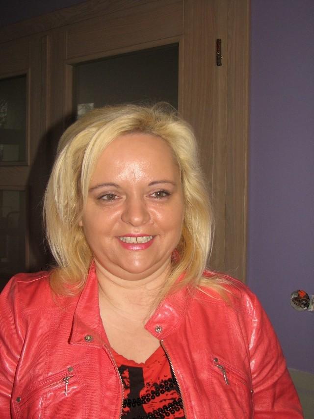 Julita Maciaszek zachęca do składania wniosków