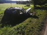 Wypadek na DK 65! 4 osoby trafiły do szpitala