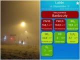 Smog w Lublinie. Stan powietrza jest fatalny. Lepiej nie wychodzić z domu