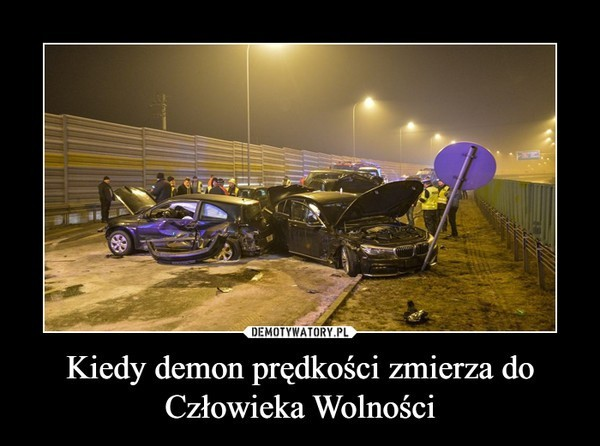Wypadek Macierewicza. Internet komentuje