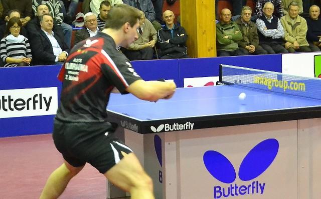 Tomislav Kolarek odrobił punkt stracony w pierwszej partii i dzięki jego zwycięstwu Olimpia/Unia wyrównała na 1:1.