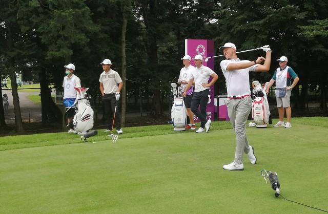 Tokio 2020. Adrian Meronk w czwartek rozpoczął grę na igrzyskach w Kasumigaseki Country Club