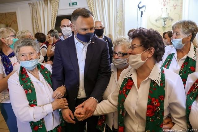 Prezydent Duda był w Urszulinie w ostatnią środę