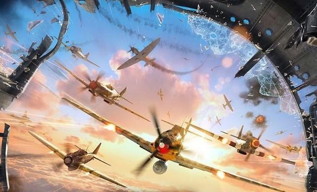 World of WarplanesWorld of Warplanes - im więcej samolotów, tym lepiej.