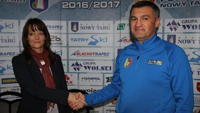 Agata Michalska wspólnie z Witalijem Semenczenko