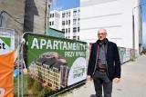 Ruszyła budowa Apartamentów przy Rynku w Kielcach. Powstanie tu piękny budynek, który zmieni centrum miasta [ZDJĘCIA, WIDEO]
