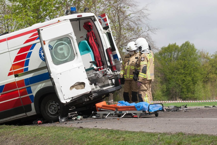 Wypadek na trasie Słupsk - Ustka w pobliżu miejscowości...