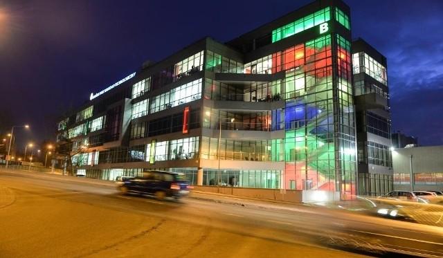Polska Agencja Kosmiczna ma swoją siedzibę na razie na terenie Gdańskiego Parku Naukowo - Technologicznego