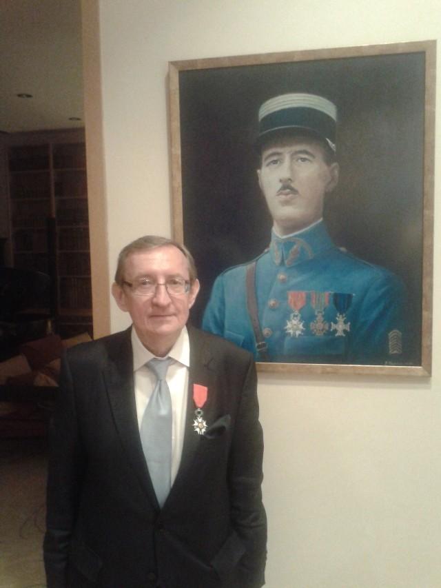 Senator Józef Pinior Kawalerem Legii Honorowej