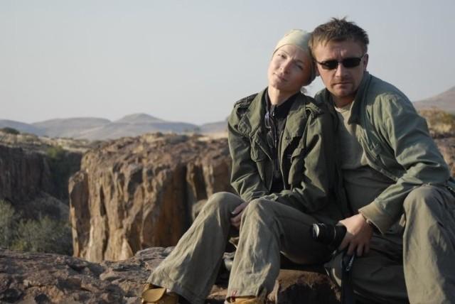 Maja i Artur Smółkowie podczas jednej ze wspólnych wypraw afrykańskich