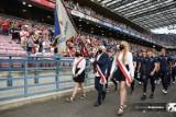 Wisła Kraków zaprezentowała swoje sekcje w czasie jubileuszowego meczu z Napoli