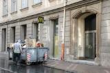 McDonald's na Rynku Głównym w Krakowie. Trwa przebudowa restauracji
