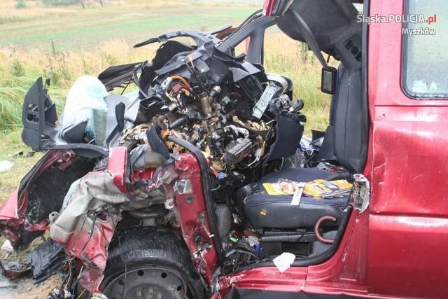 W wypadku w Koziegłowach zginęły 2 osoby