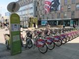 Katowice. Ruszyły rowery miejskie. W tym sezonie 107 stacji i ponad 800 jednośladów. Wypożyczalnie będą dostępne do listopada