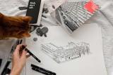 """Wystawa """"Ślady Białostockiej Moderny"""" w Centrum Nowoczesnego Kształcenia. Stypendystka pokaże efekty swojej pracy! (ZDJĘCIA)"""