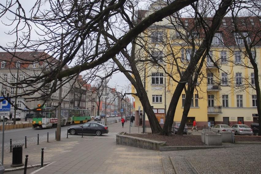 Dziś skwer u zbiegu ulic Kochanowskiego i Dąbrowskiego nie...
