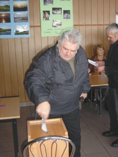 Józef Łapiński z Łap-Dębowiny był przeciw włączeniu jego wsi  w granice miasta.