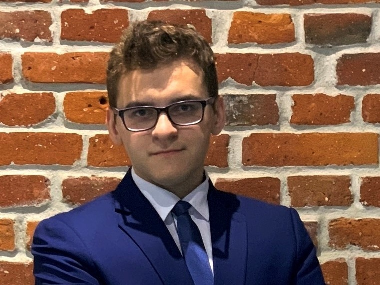 Kamil Pabian, autor nominowanej pracy