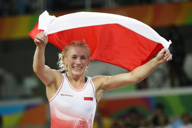 Monika Michalik niespełna rok po igrzyskach w Rio de Janeiro znów miała powody do wielkiej radości